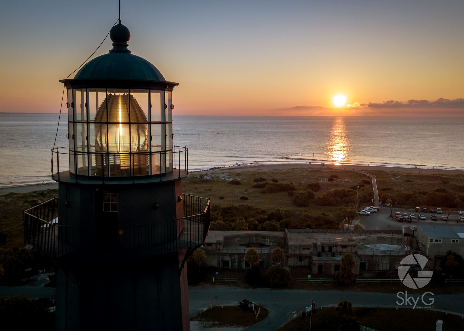Aerial Photography - Tybee Lighthouse