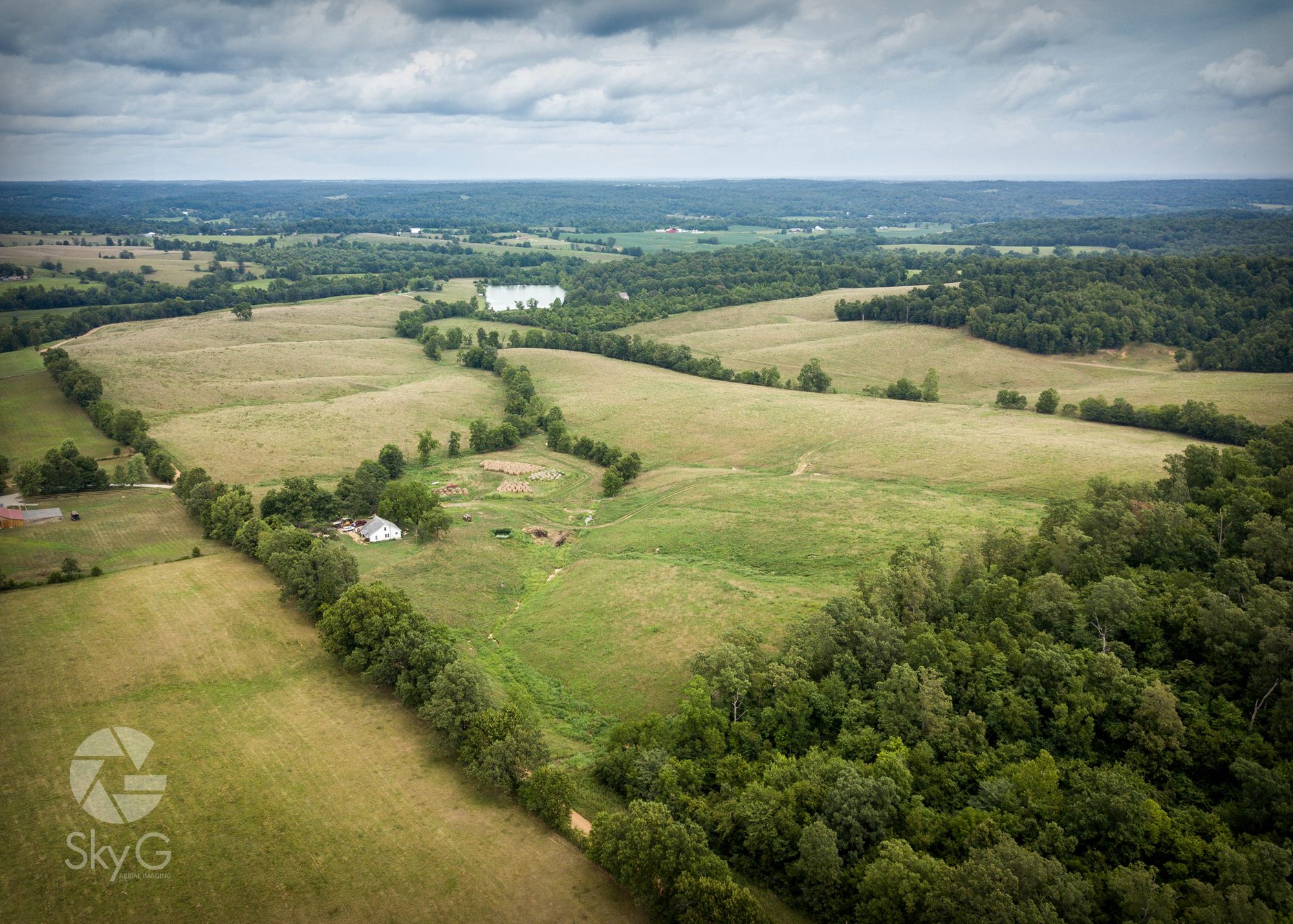 Aerial Photography - Farm