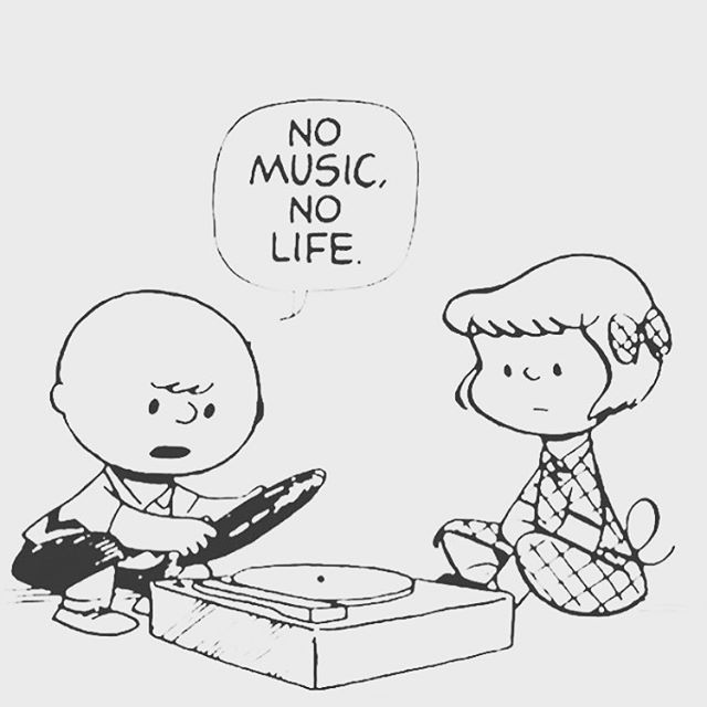 Sunday's slogan! ♥️ #nomusicnolife