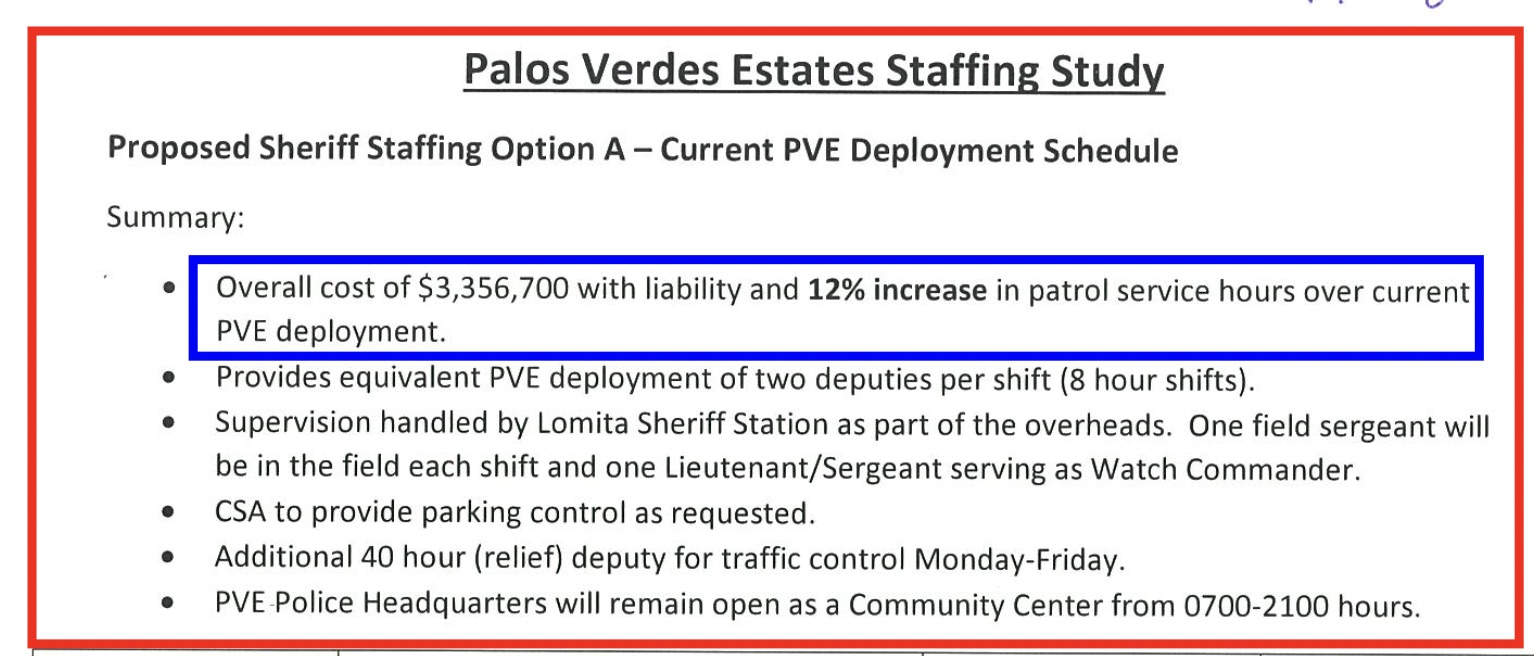 Source: LASD Quote from September 2016, obtained from PVE City Manager in response to a CPRA request. For the full document,   click here  .