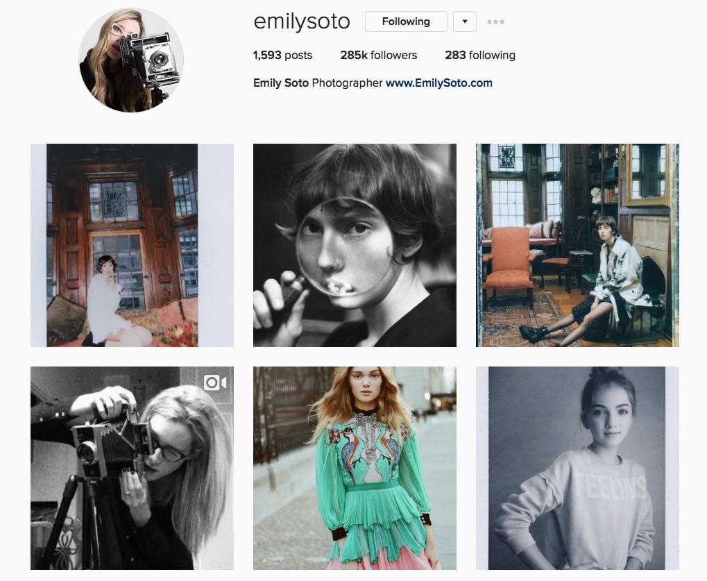 Instagram -Emily Soto
