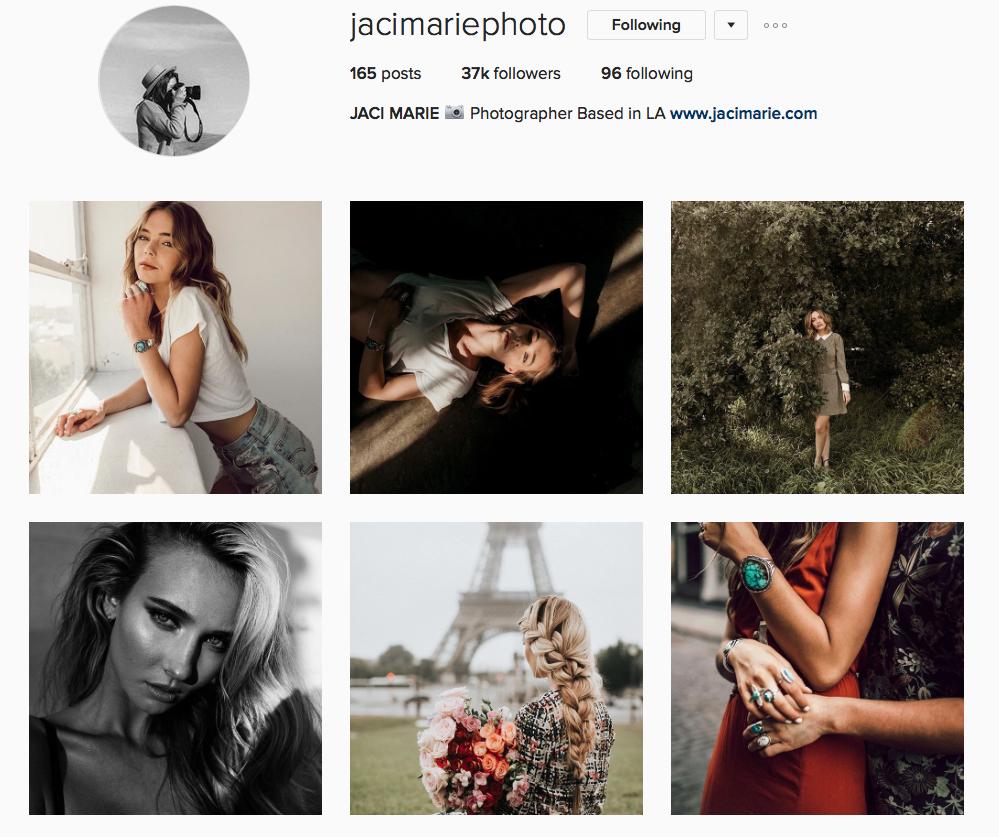 Instagram - Jaci Marie