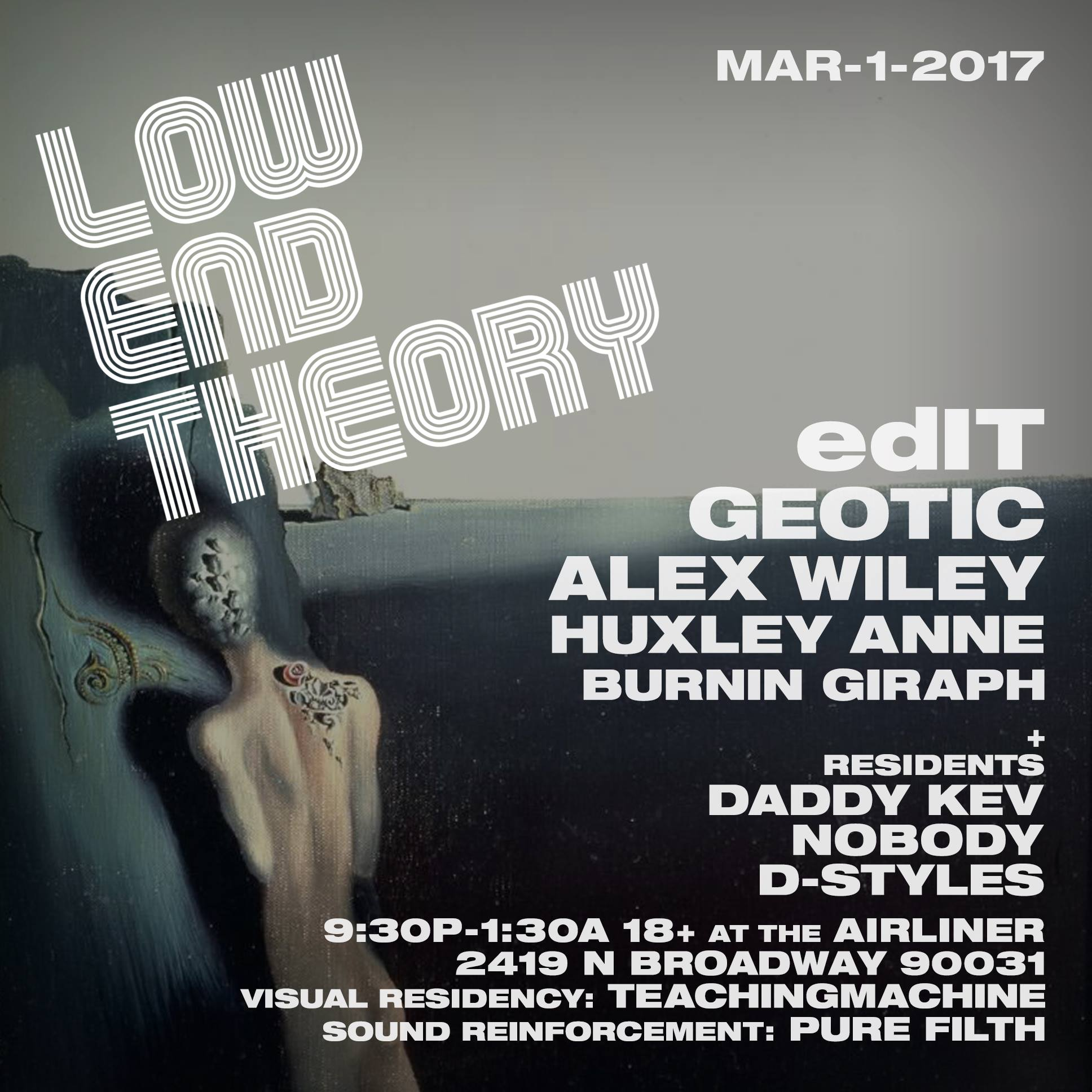 Debut Show at Low End Theory