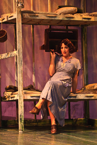as Curley's Wife, Of Mice and Men, Kentucky Opera (photo by J. David Levy)