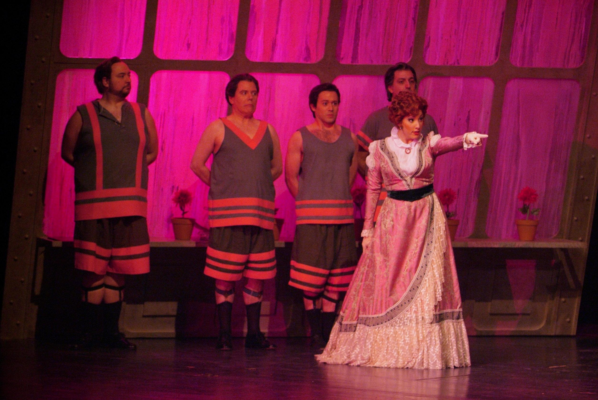 as Norina with Jonathan Beyer, Don Pasquale, Pittsburgh Opera (photo David Bachman)