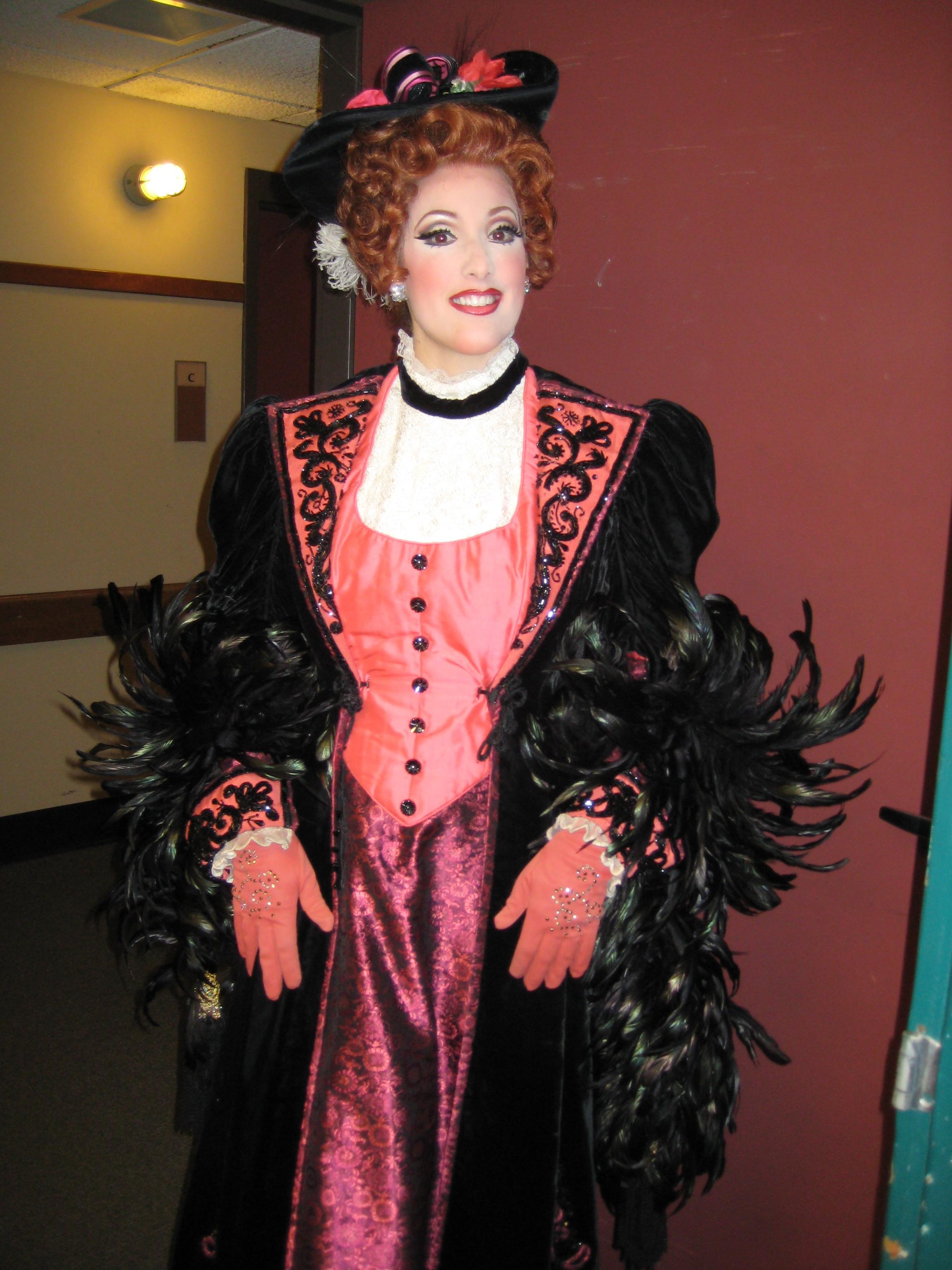 as Musetta in La Boheme with Pittsburgh Opera