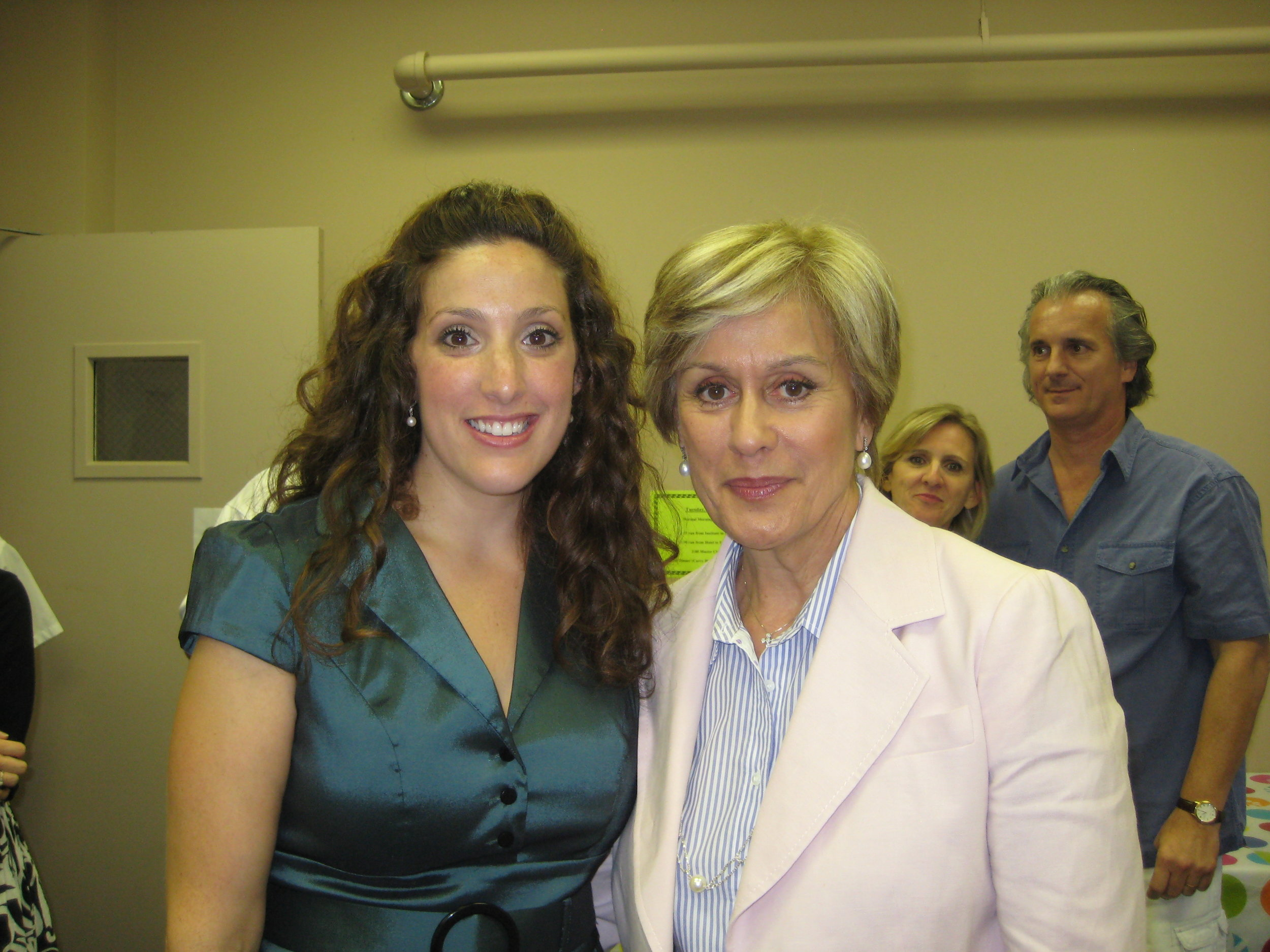 with Dame Kiri Te Kanawa after master class at Ravinia Steans Institute