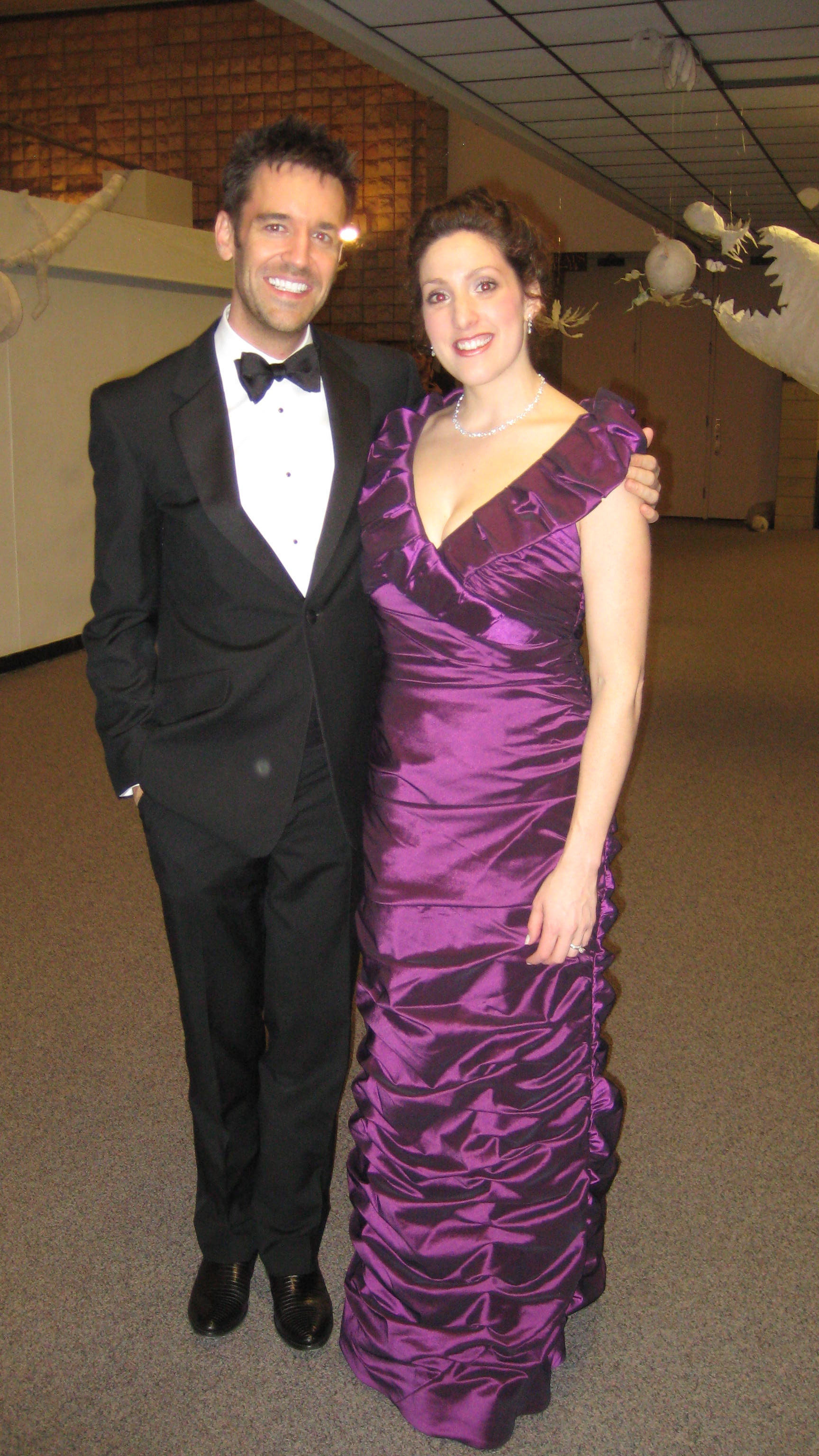 with pianist Cameron Stowe