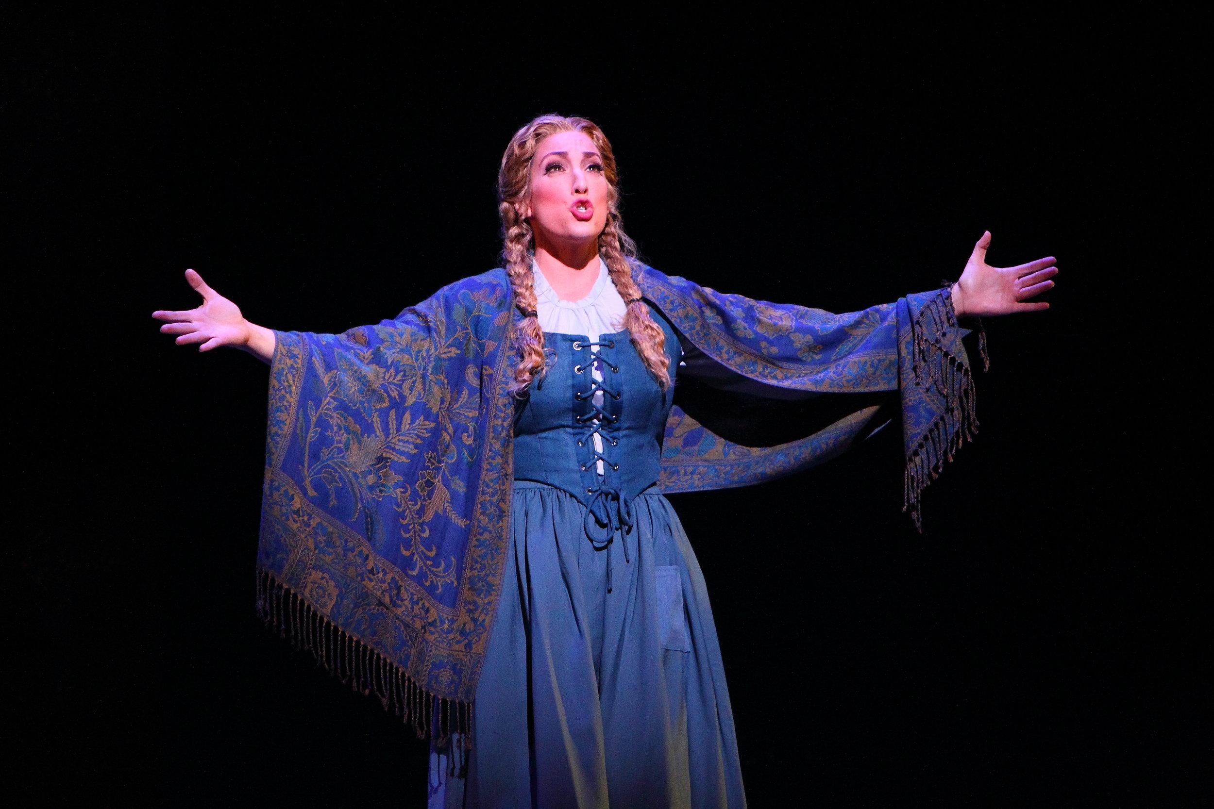 as Micaela in Dayton Opera's Carmen, photo by Scott Kimmins