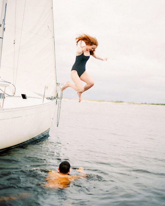 Diving into a new week ⚓️ Happy Sunday, loves!