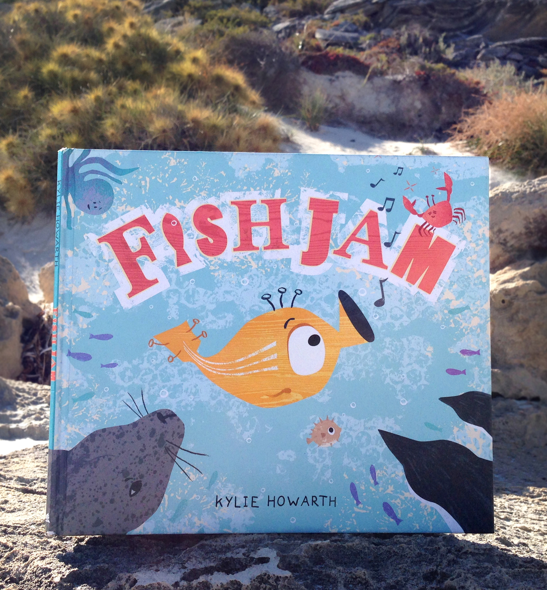Fish Jam - Picture Book by Kylie Howarth