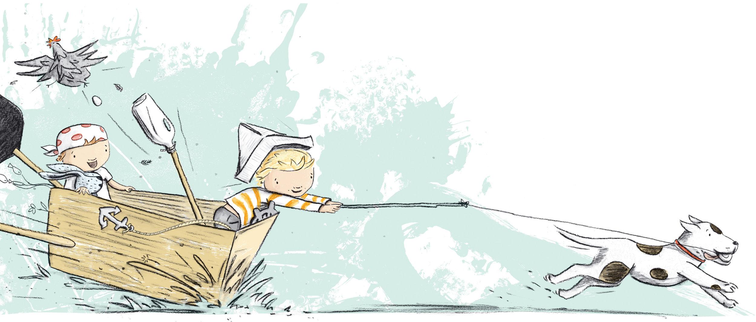 1, 2, Pirate Stew Illustration, Kylie Howarth