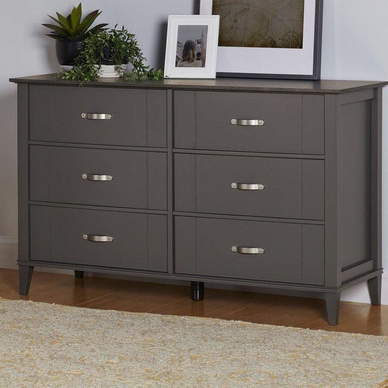 Myles 6 Drawer Dresser