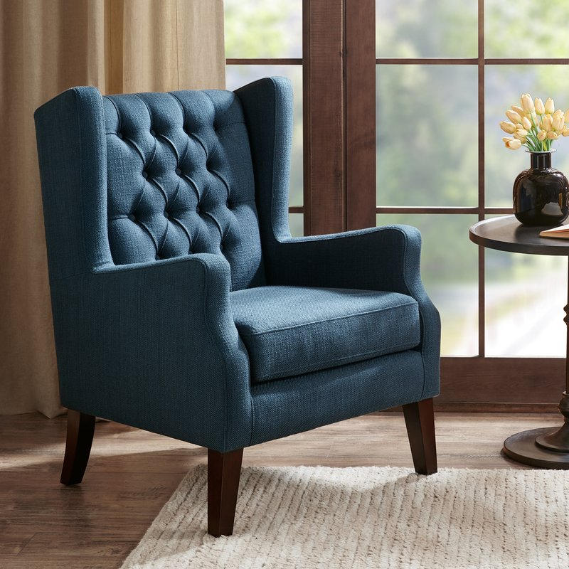 Ferdonia Button Tufted Wingback Chair