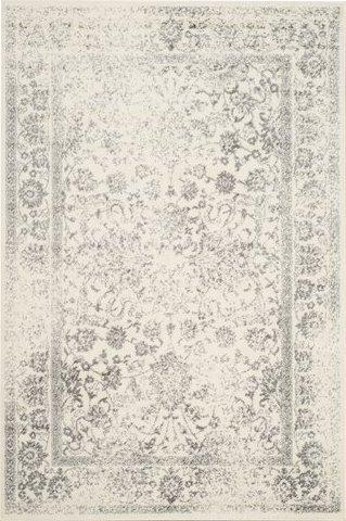 Reynolds Ivory/Silver Area Rug