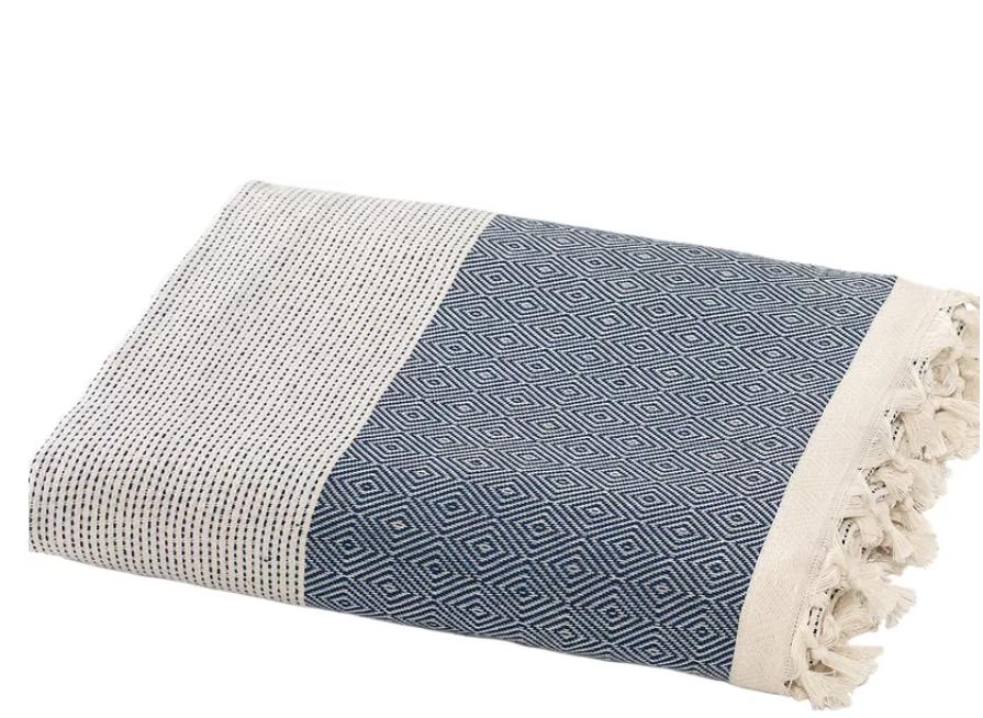 Beal Turkish Cotton Throw Blanket