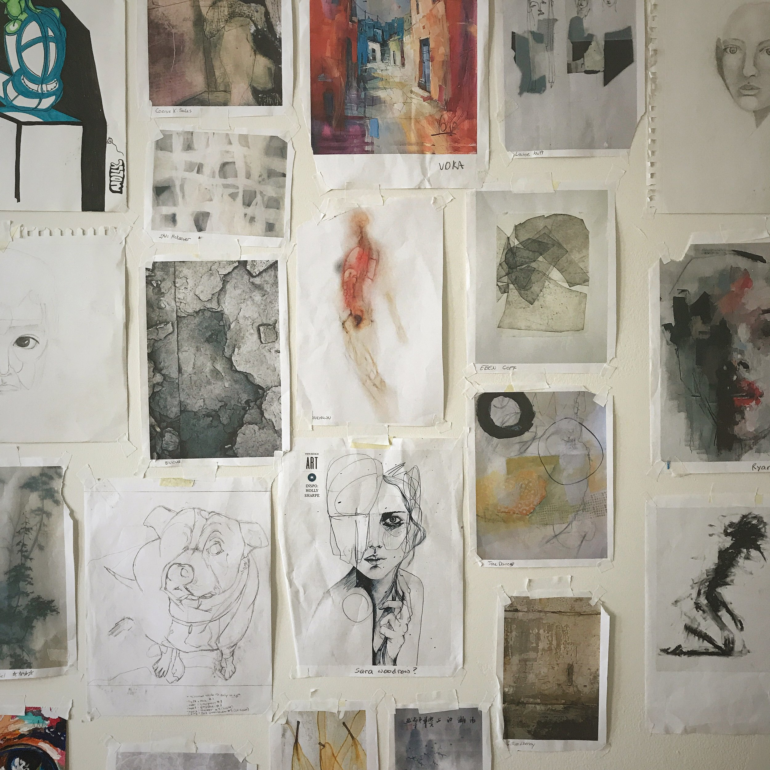 In the Studio: Reorganize to get Reinspired
