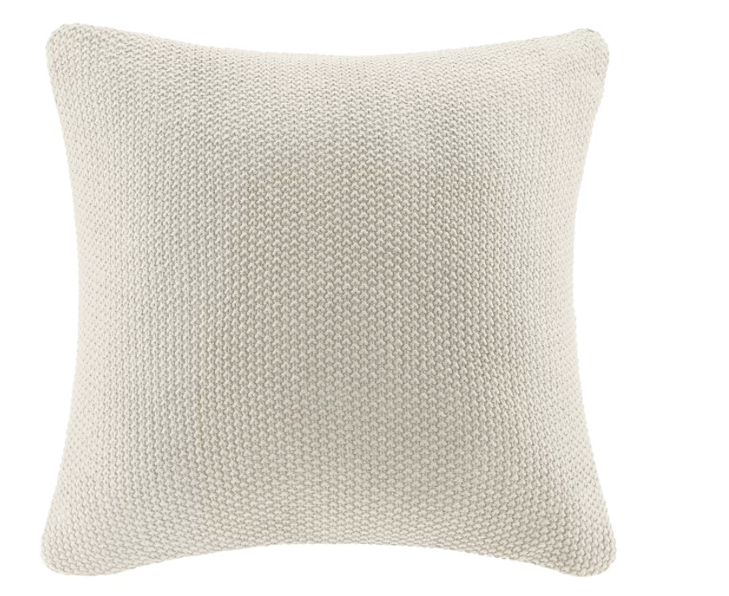 Elliott Knit Throw Pillow Cover