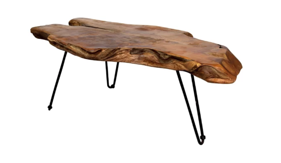 Dartmouth Carving Coffee Table