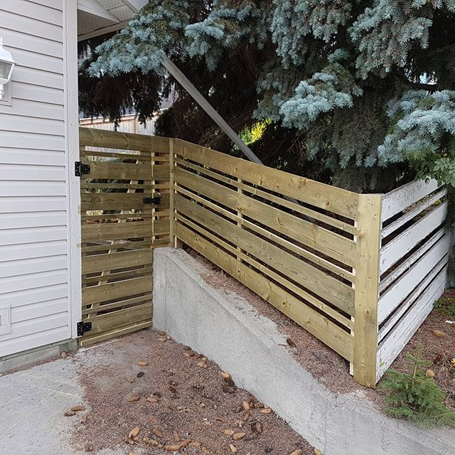 Some times you just have to match the old #carpentry #yyc #carpenter #woodworking #fence #cozycarpentry