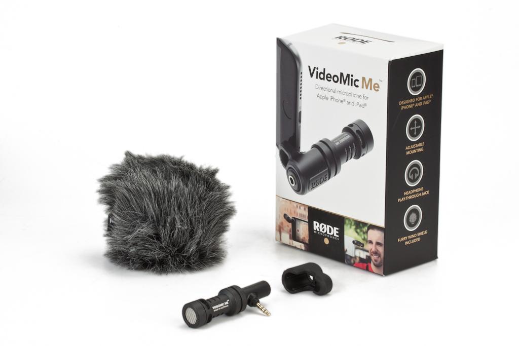 RODE ロード VideoMic Me スマートフォン用小型・軽量指向性マイク
