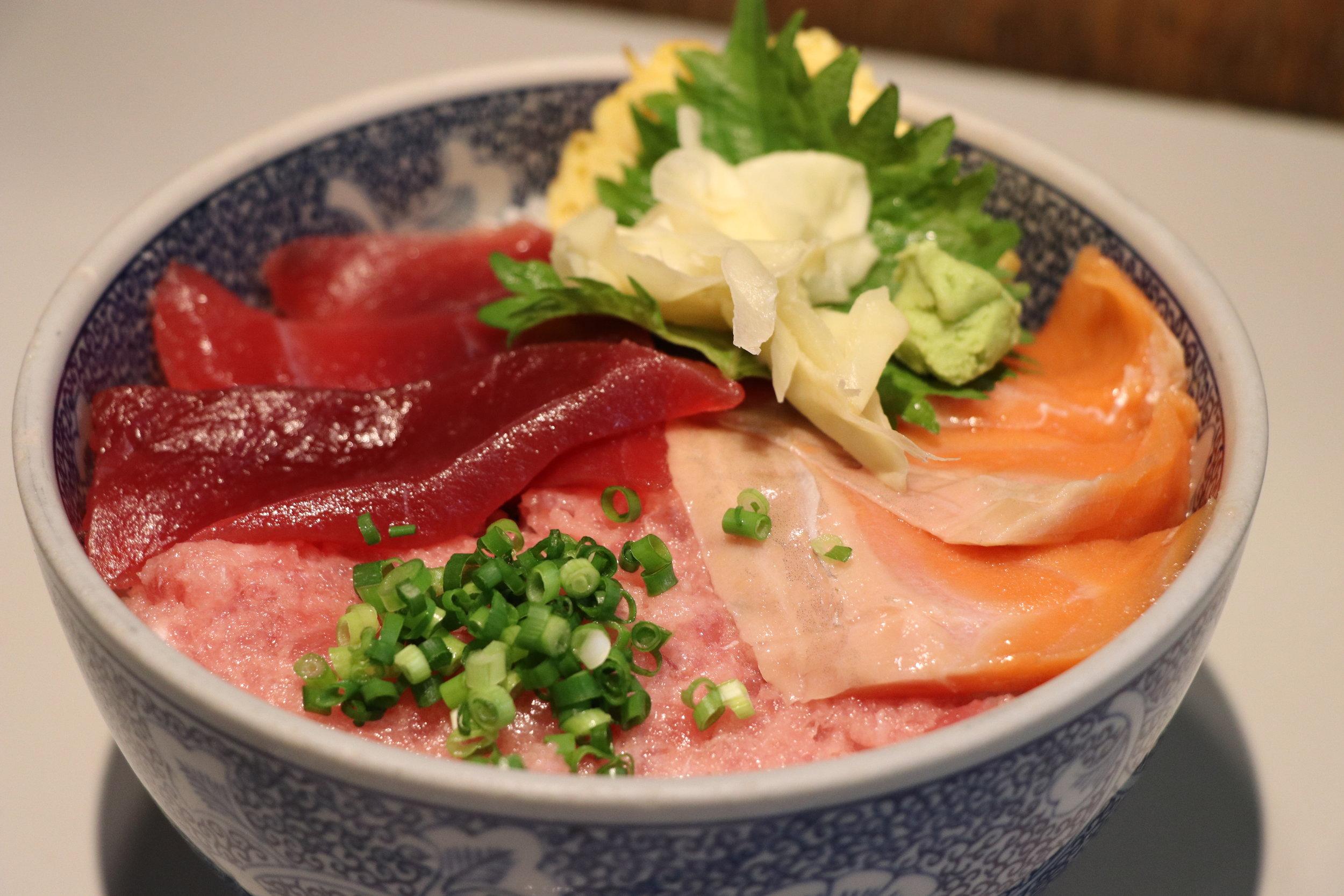 Salmon/Tuna/Negitoro