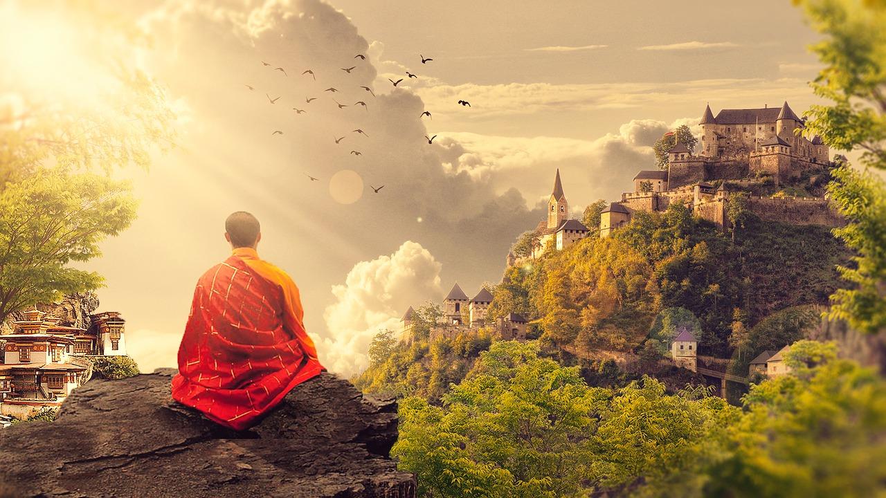タイ 寺院 服装