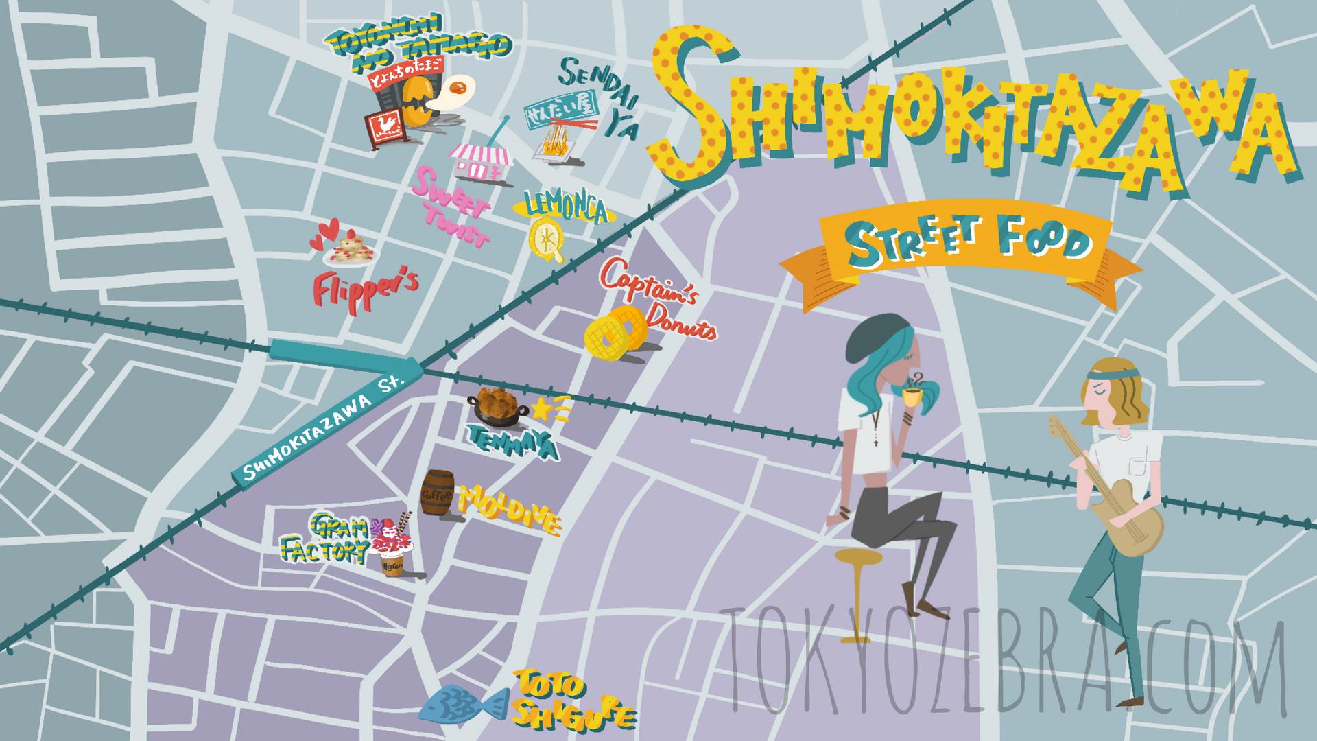 Shimokitazawa Map -