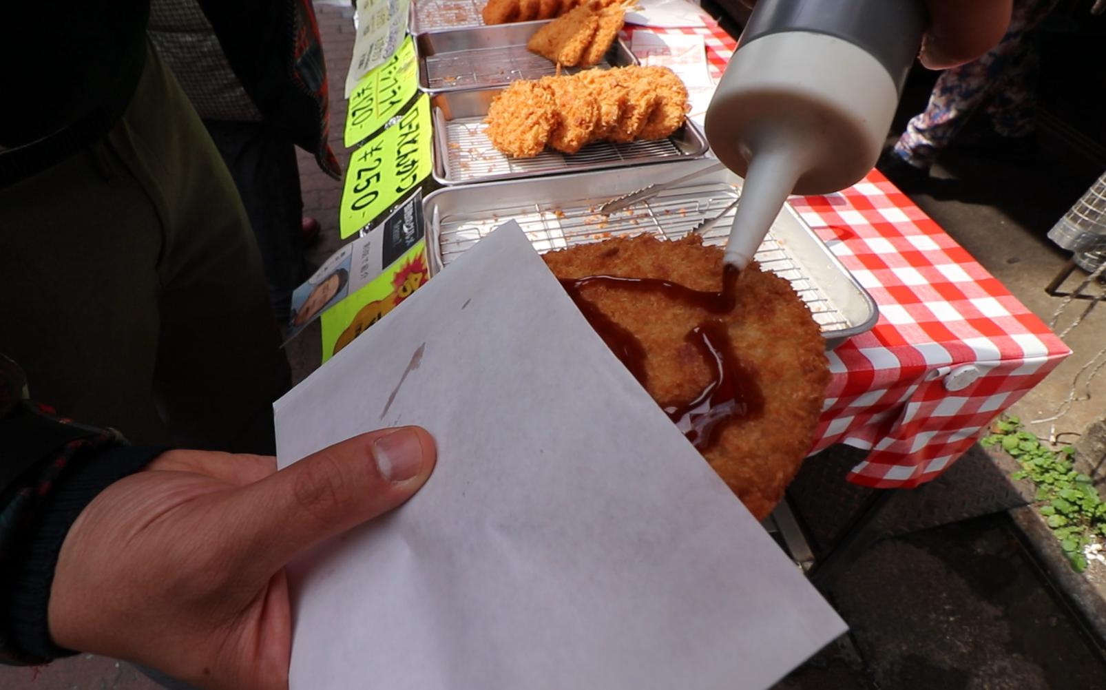 sunamachi ginza tokyo street food