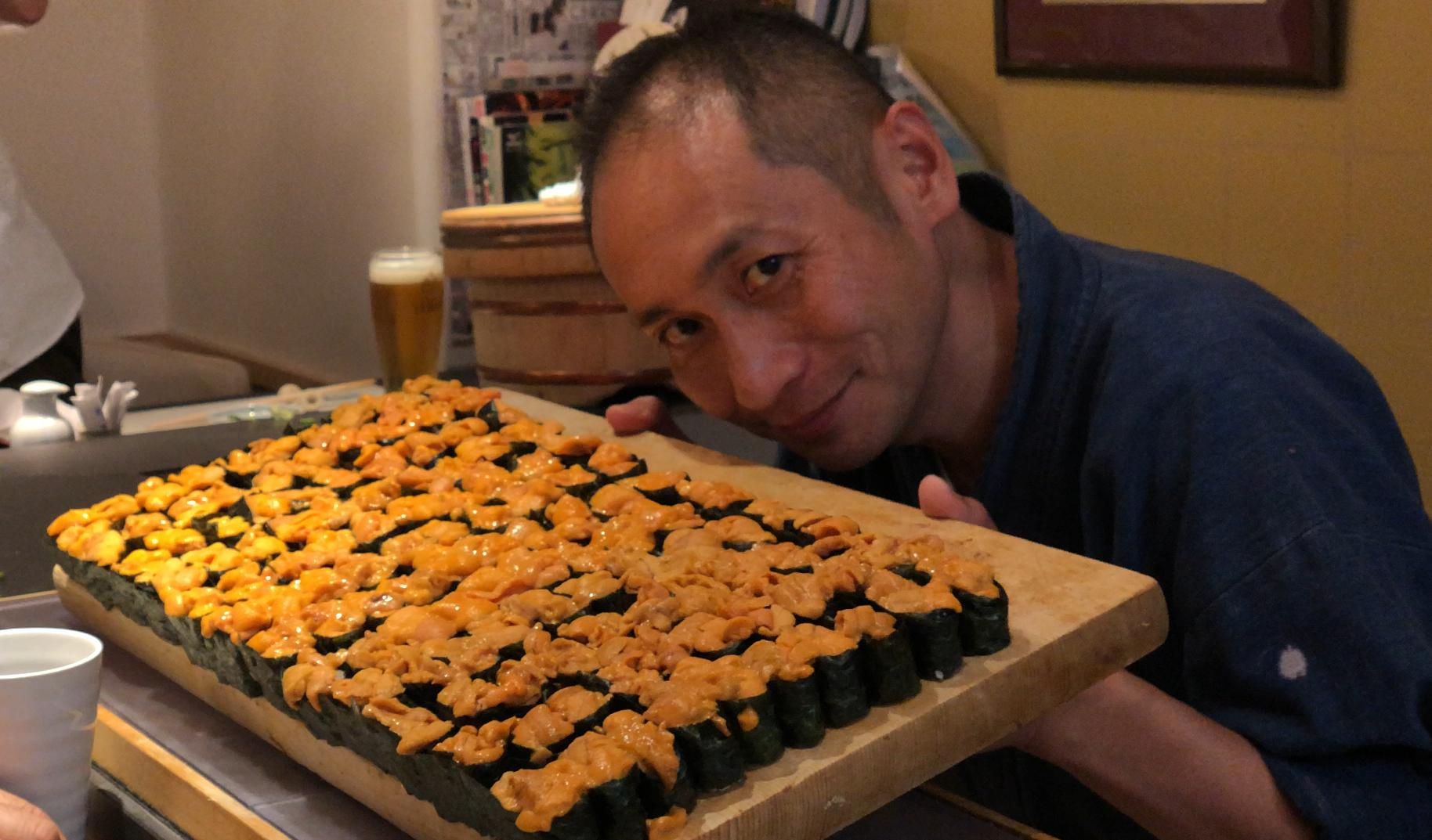寿司 ウニ祭り
