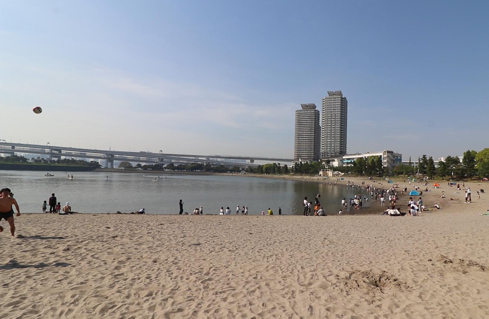odaiba beach park things to do