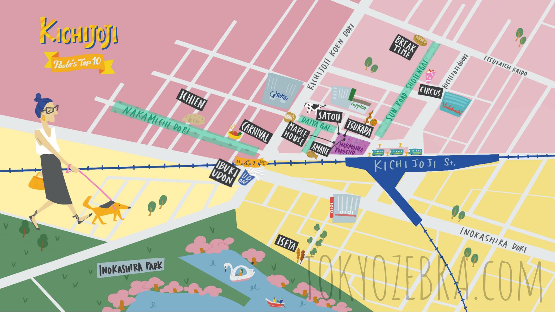 KICHIJOJI MAP -