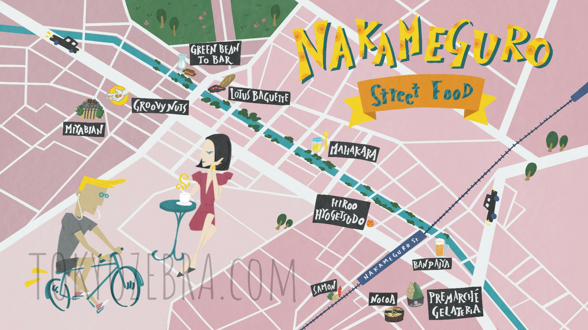 NAKAMEGURO MAP -
