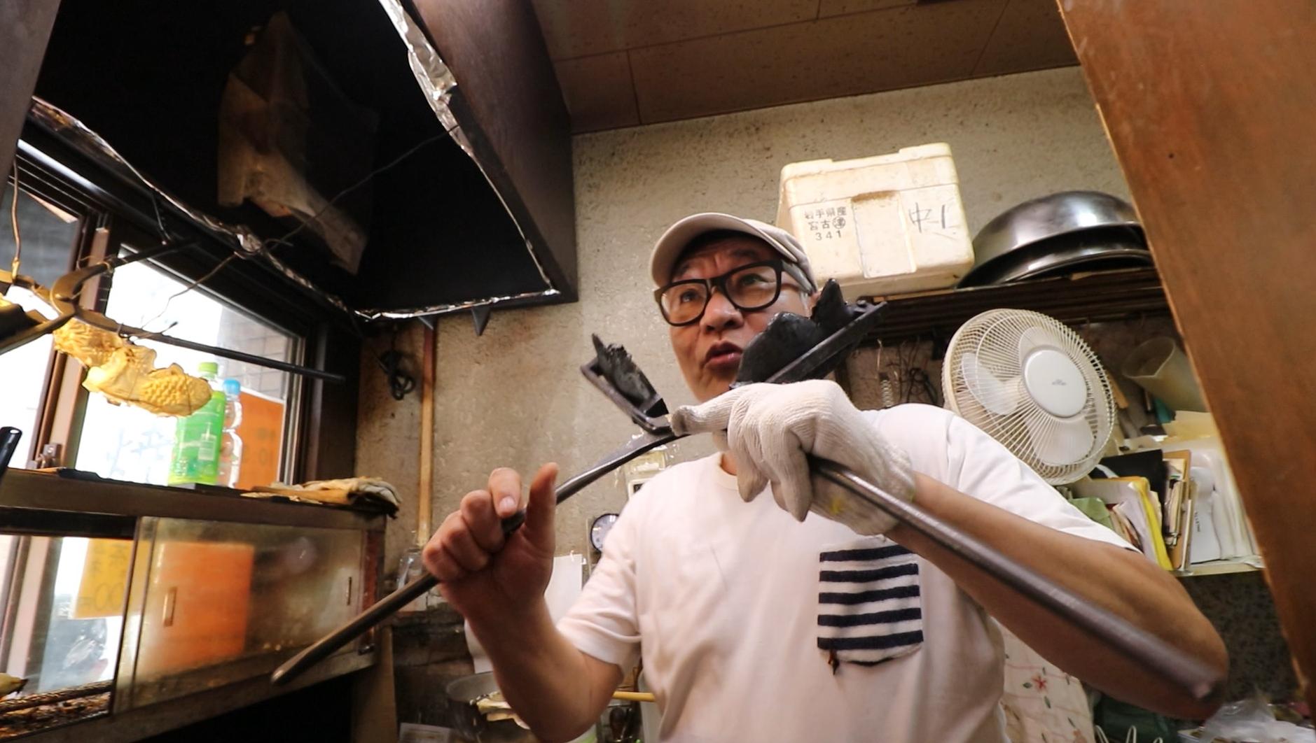 street food asakusa taiyaki