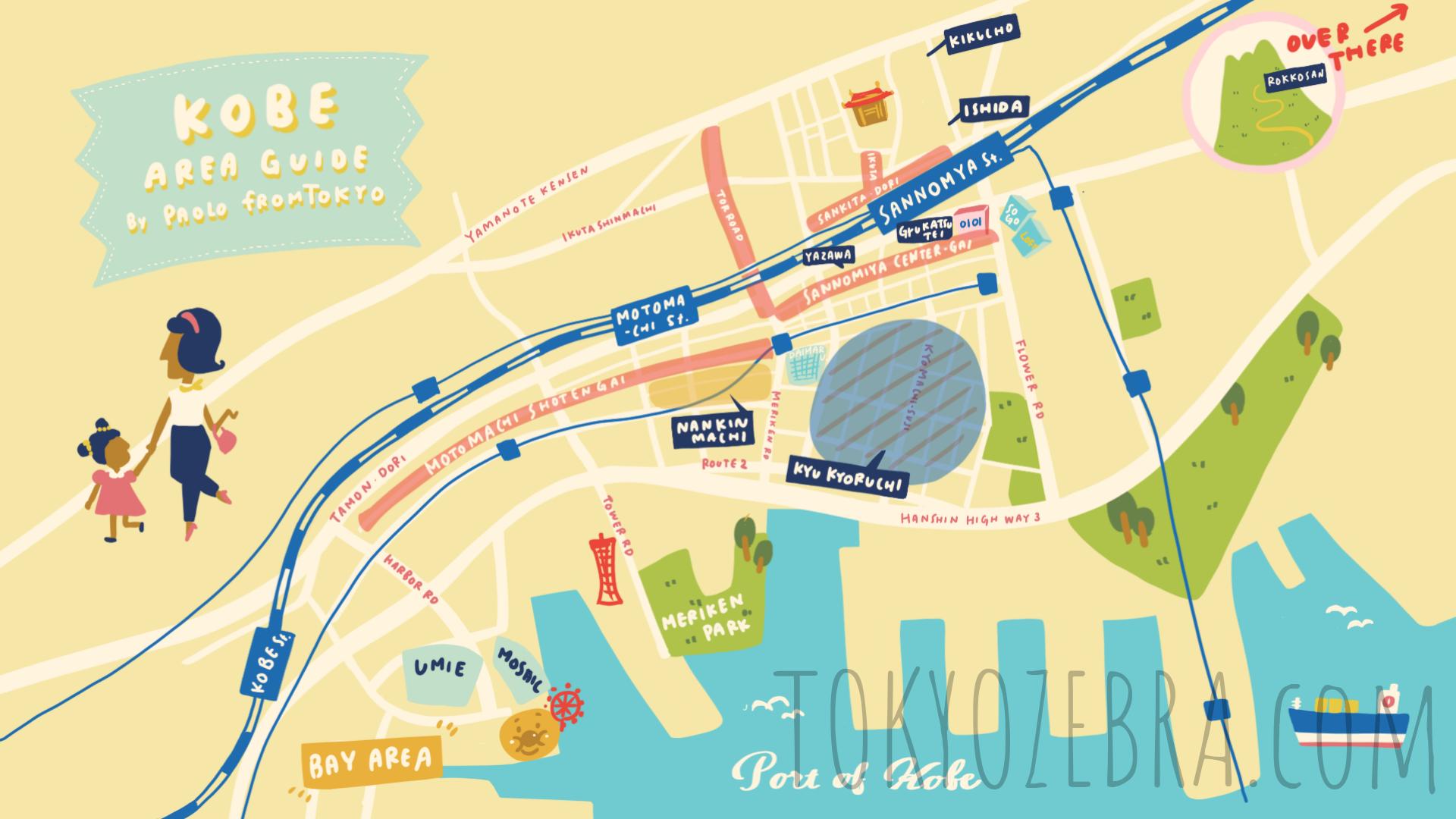 Kobe Map -