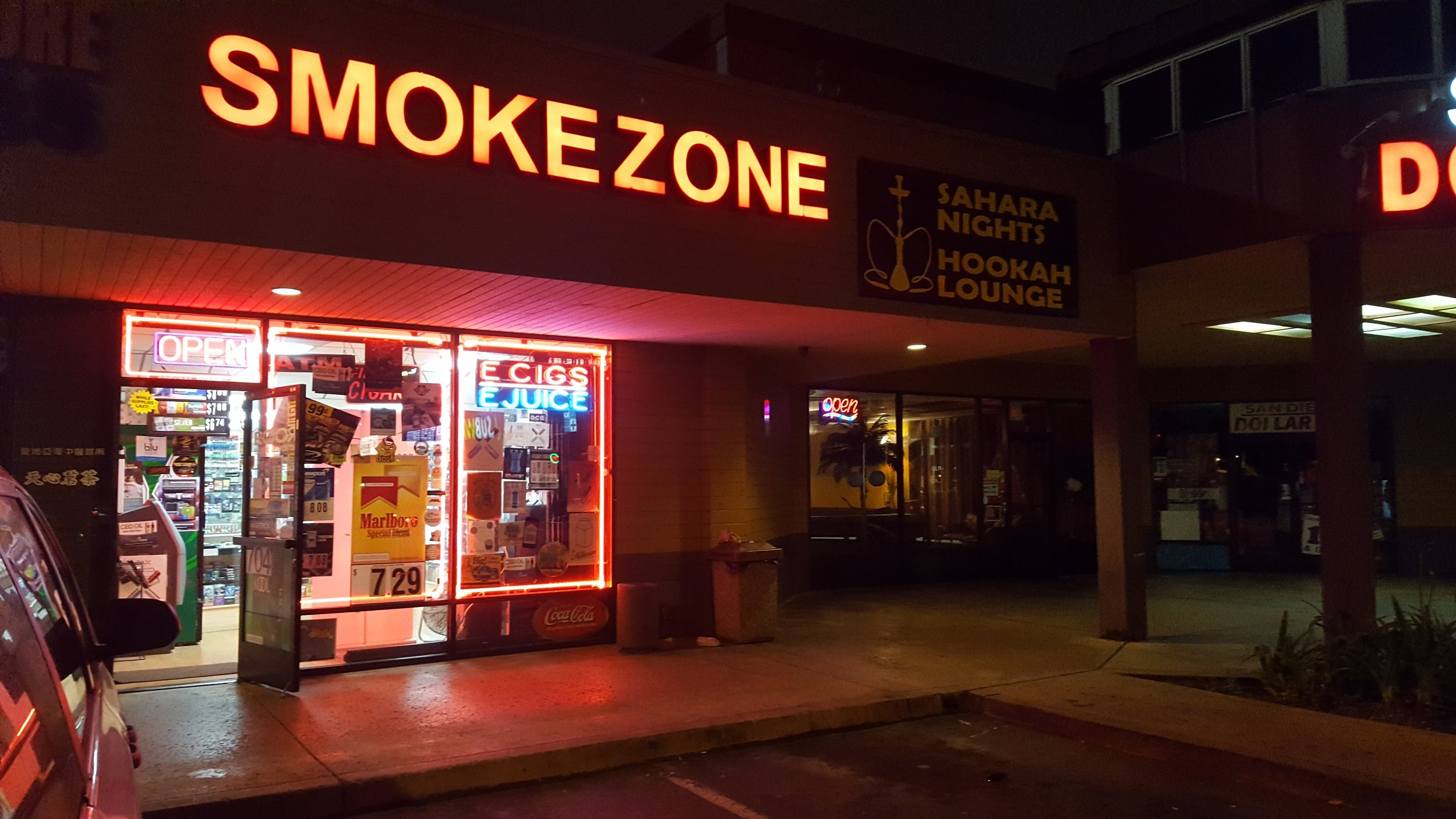 Smoke Zone Midway  - Near Ocean Beach