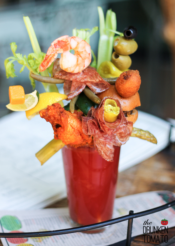 """Todd English PUB """"All About Mary"""" Bloody Mary"""
