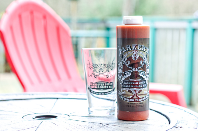 Parker's Hangover Tonic Bloody Mary Caesar Mix
