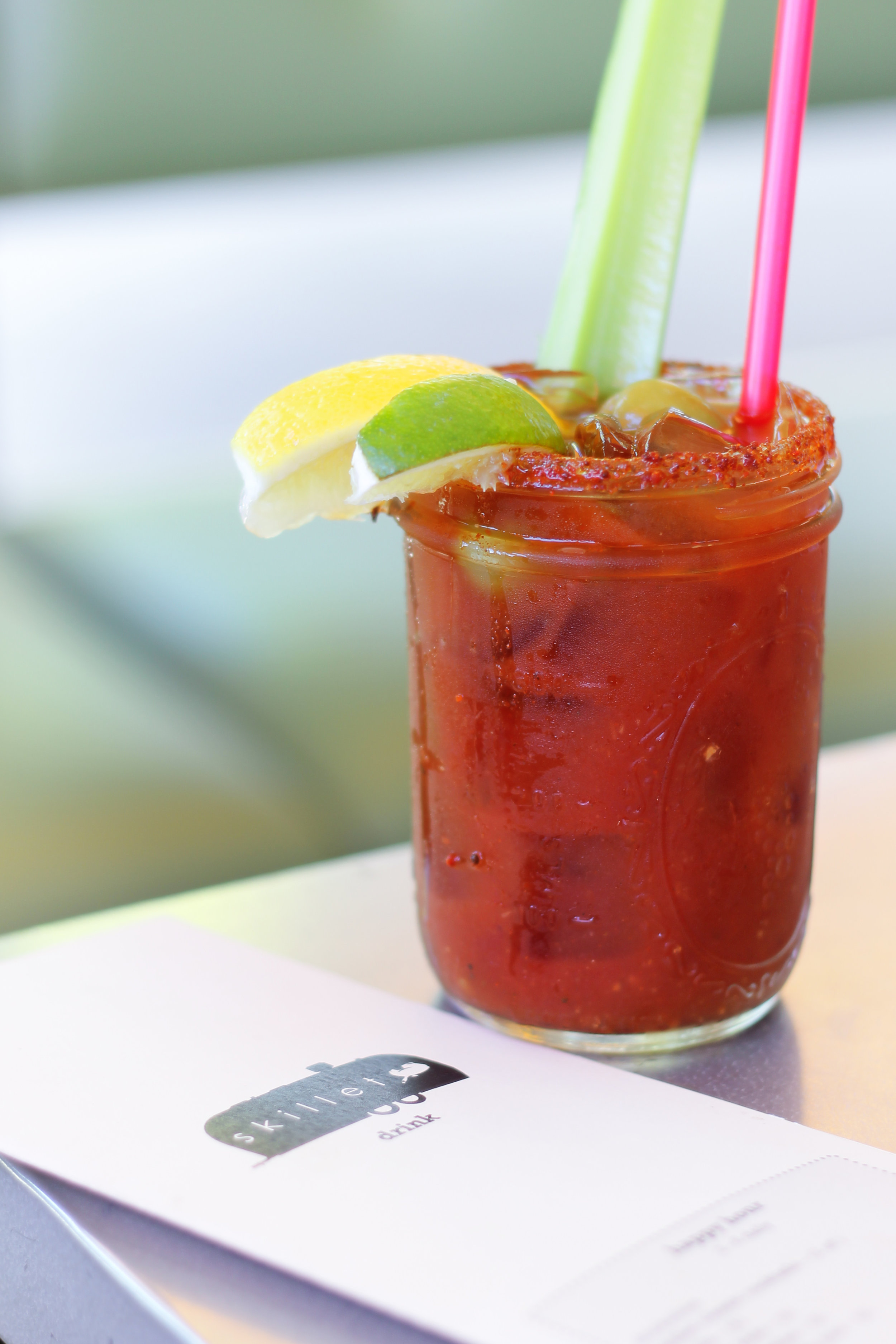 Skillet Diner Bloody Mary