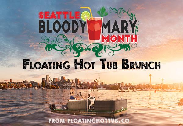 Floating Hot Tub Brunch