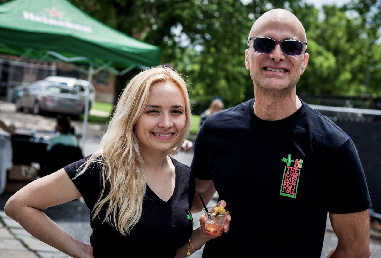 Evan & Yunna Weiss - Founders, The Bloody Mary Festivalhttps://www.TheBloodyMaryFest.com