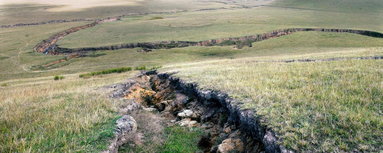 Soil erosion outside Coffee Bay - J. Riordan