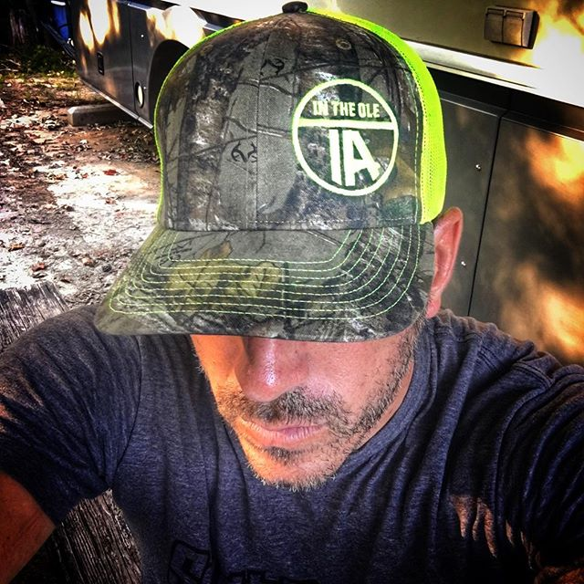 I haven't worn camo since my Air Force days. I'm liking it. Neon green, pink, orange and brown versions available soon at www.intheoleia.com #intheoleia #intheoleIA