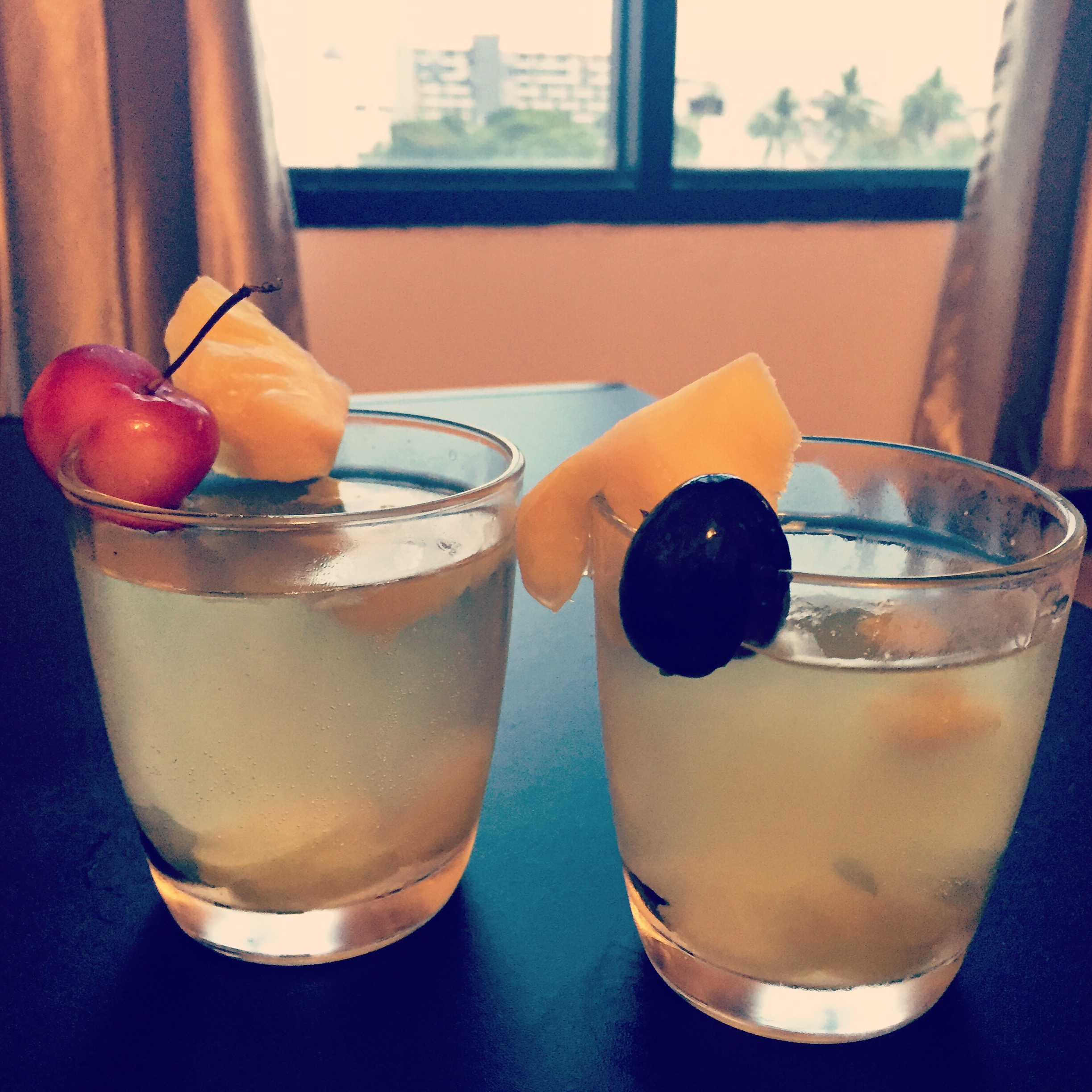Extra Thai fruit? Make white wine sangria