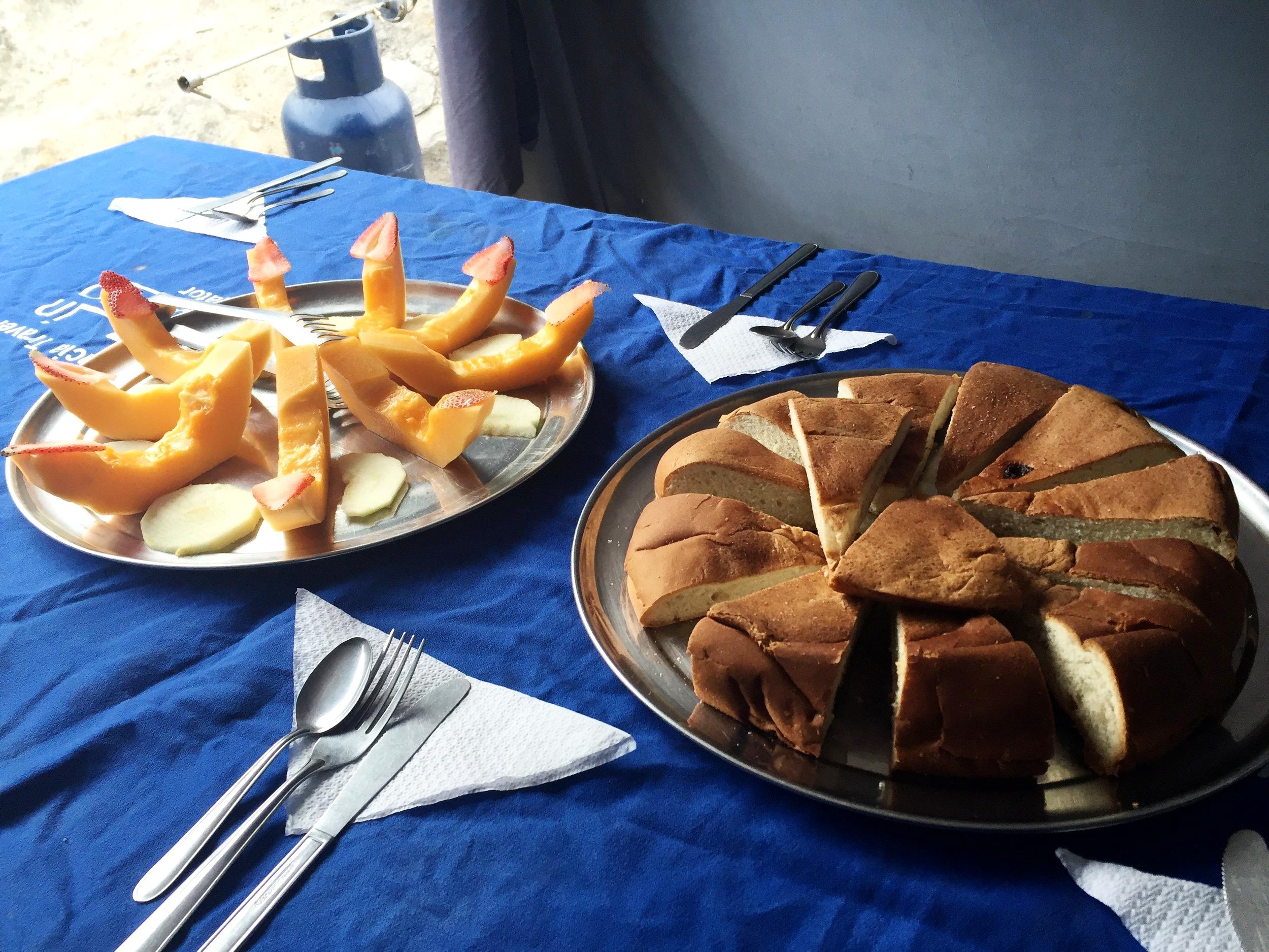 Pre-breakfast snack