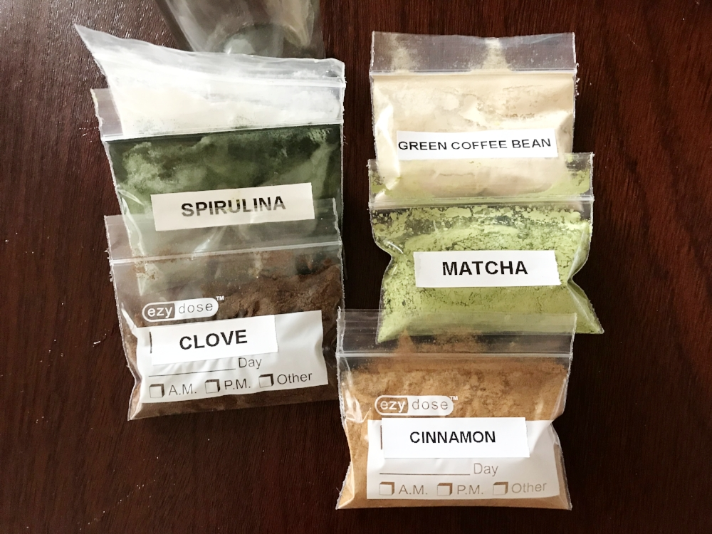 My go to favorite spices and supplements for traveling