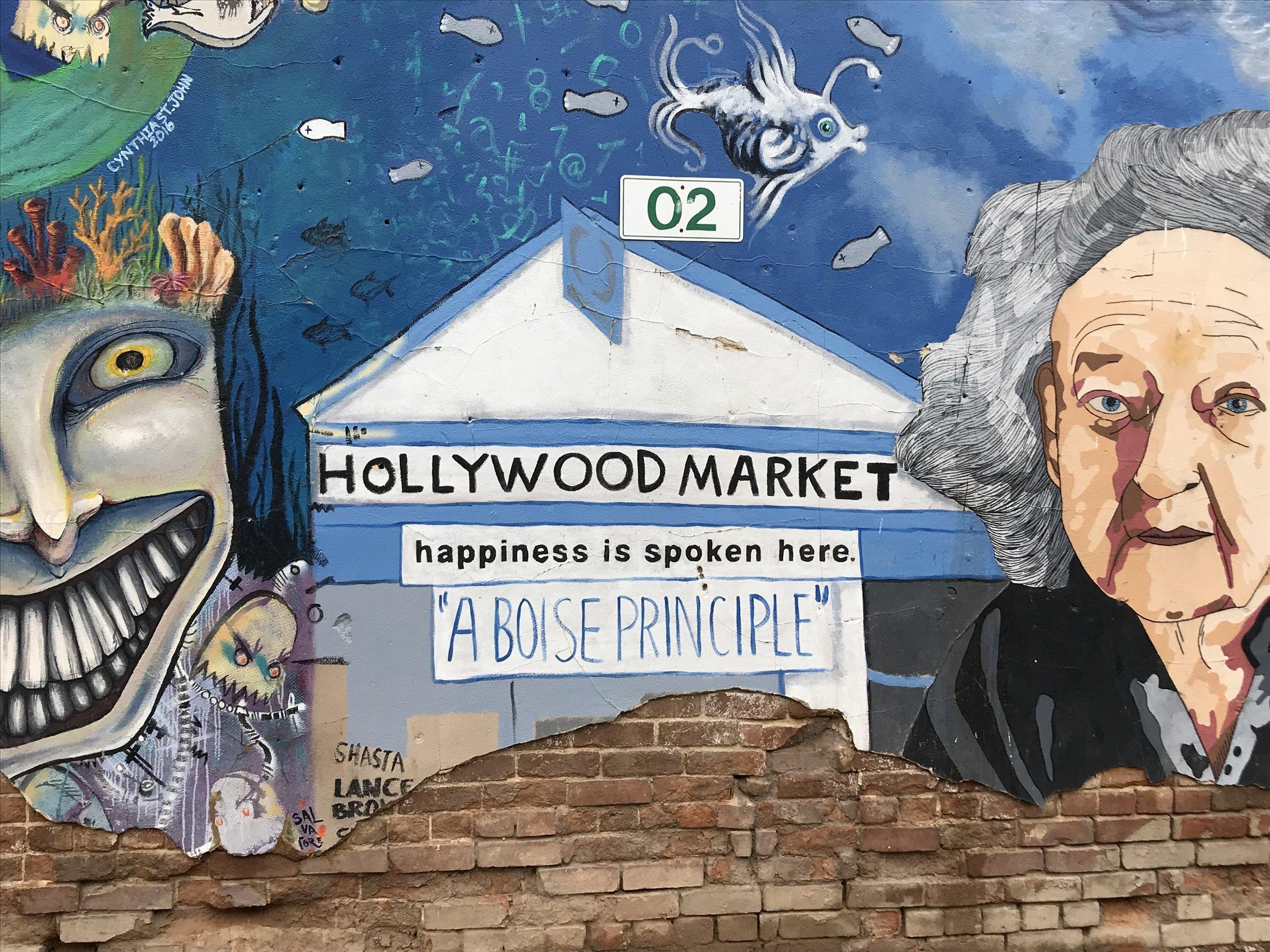 Freak Alley, Downtown Boise