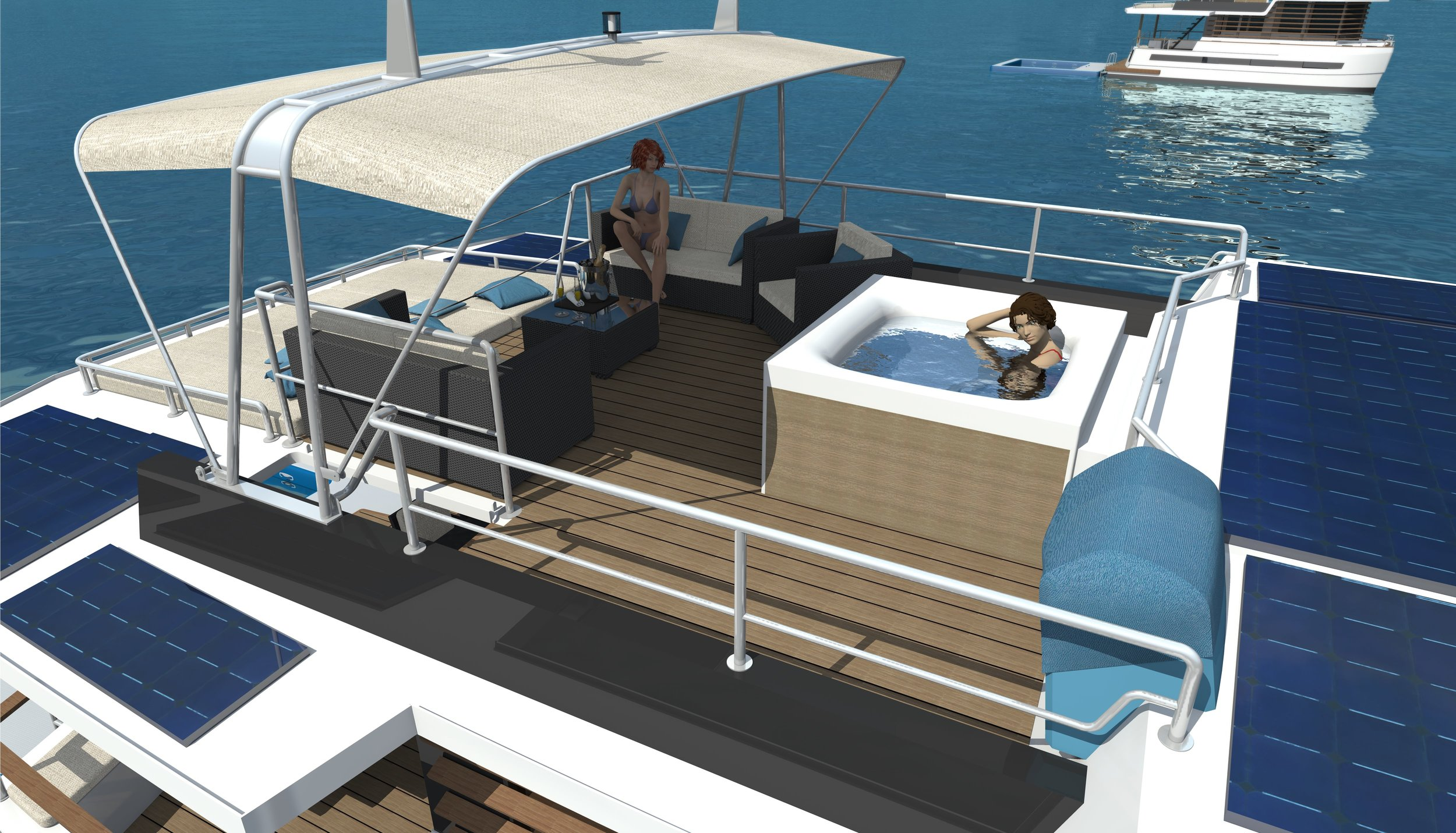 Flybridge – 263 sq ft