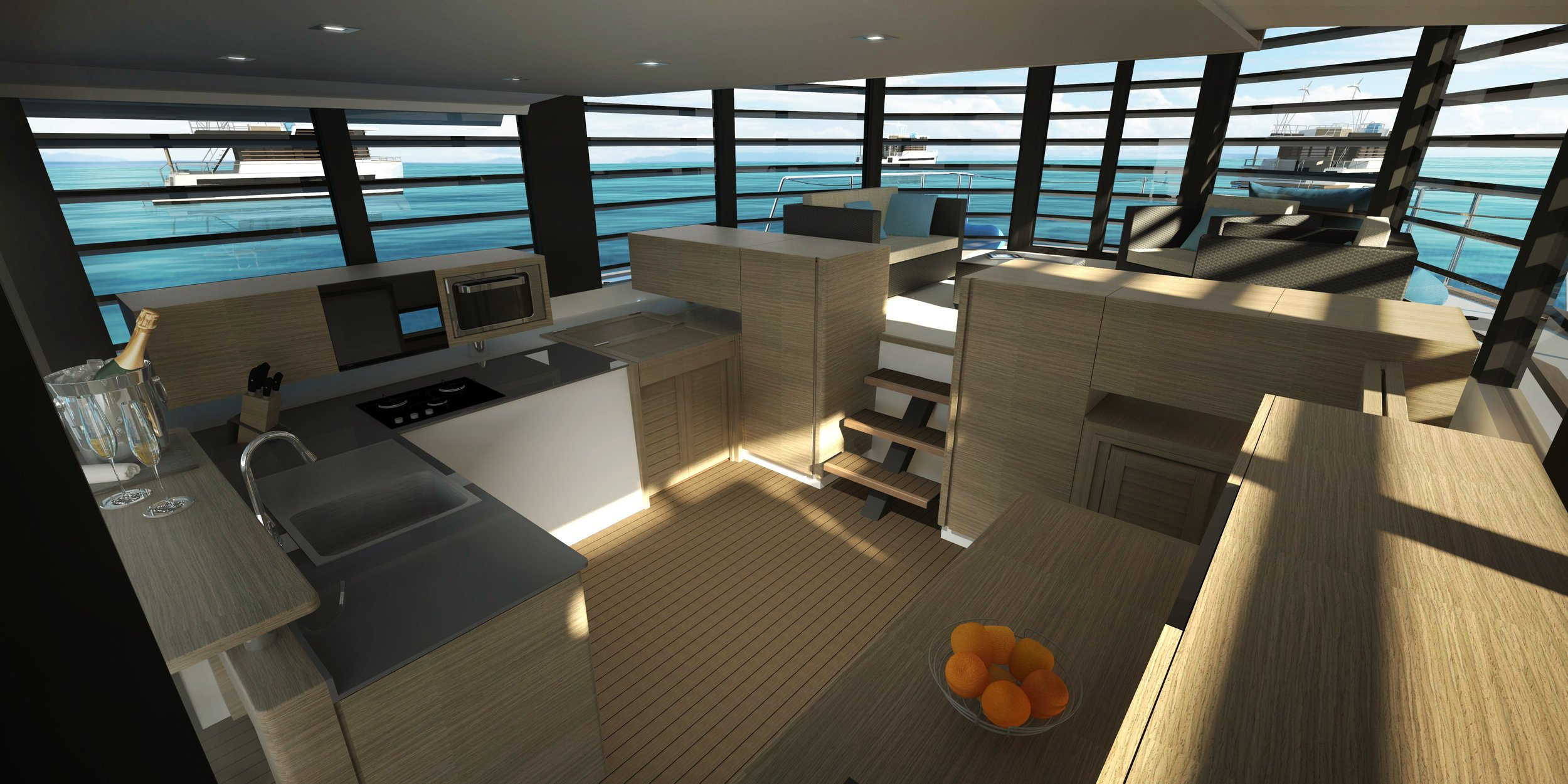 Kitchen - 17 m²