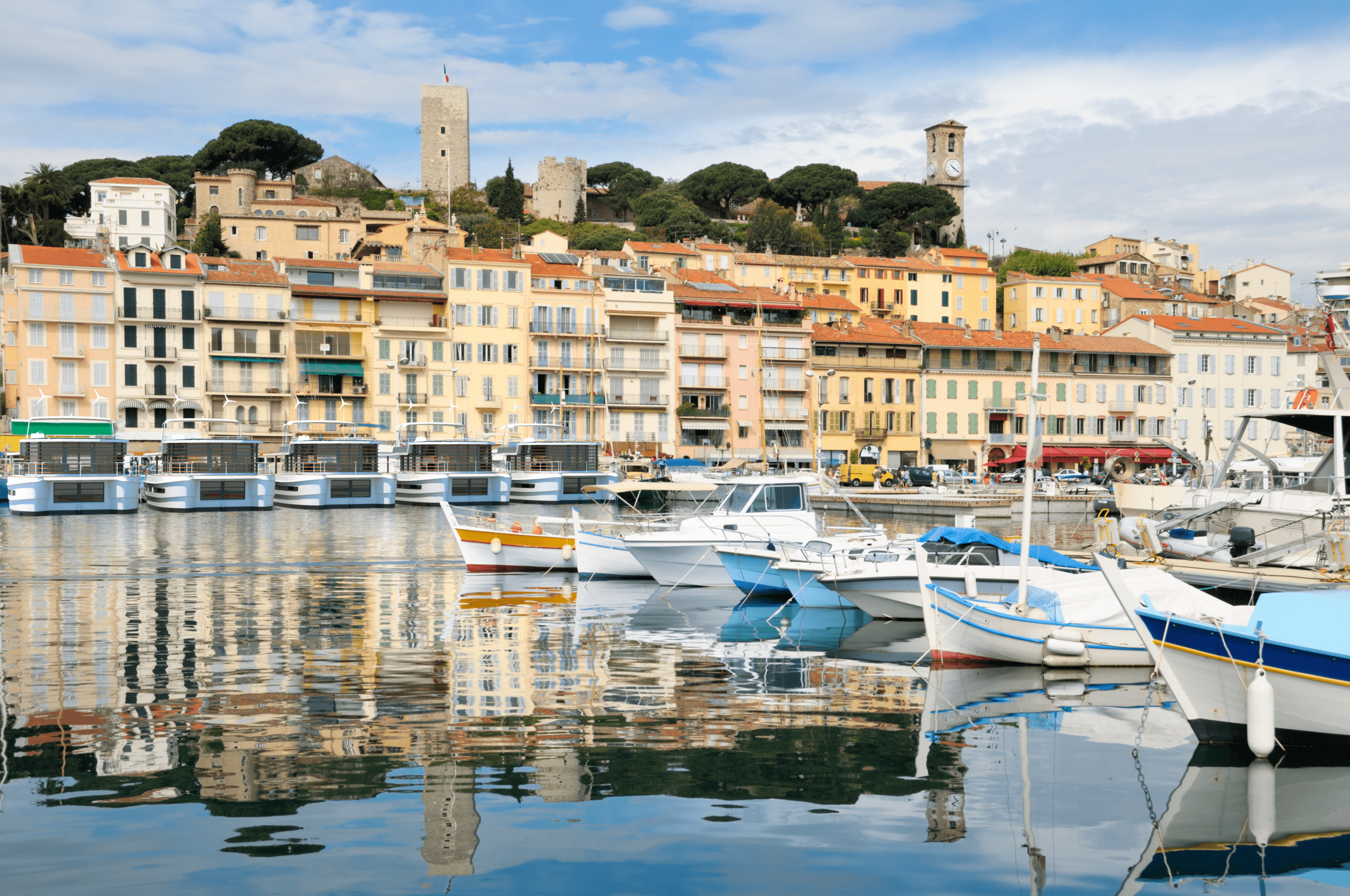 Live in the most prestigious marinas - Cannes